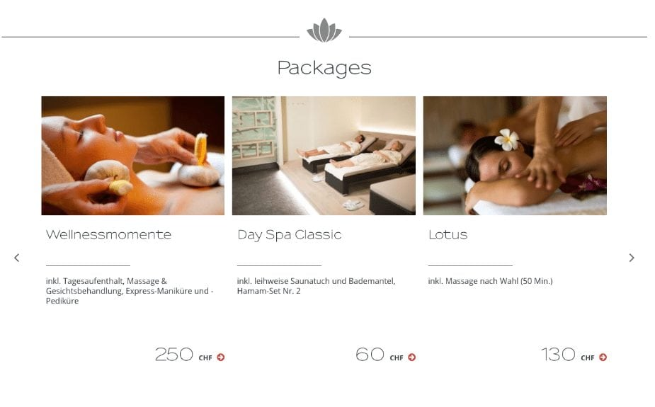 Viminds Referenzen Asia Spa Packages